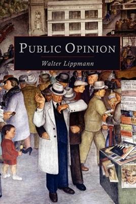 """Okładka ksiązki """"Public Opinion"""" Waltera Lippmana"""