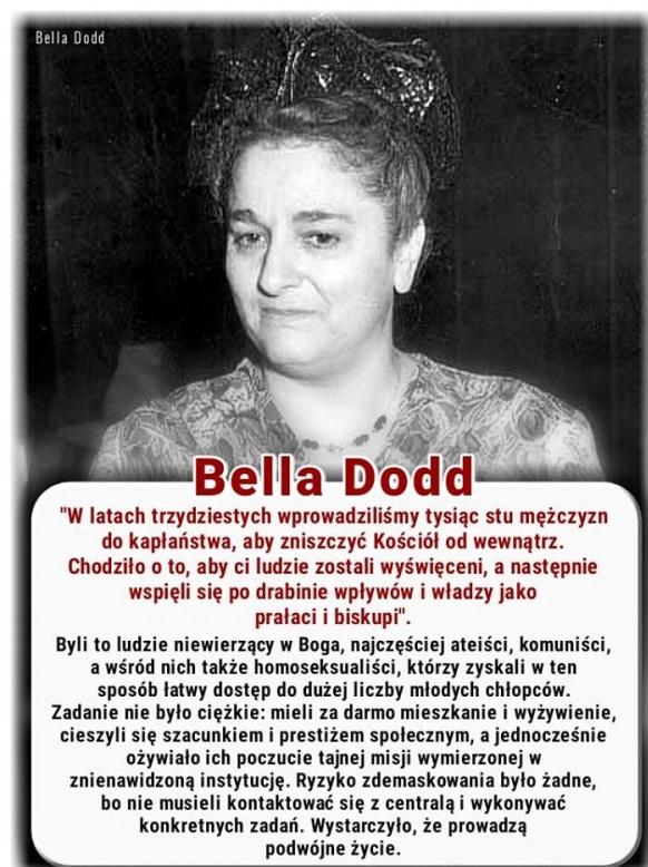 Bella Dodd o seminariach