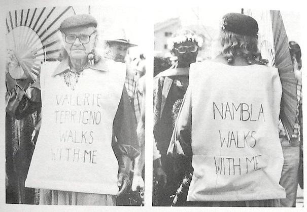 Harry Hay, wielokrotnie postulował dołączenie NAMBLA do gejowskiej parady - NAMBLA idzie ze mną
