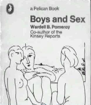 Wardell Pomeroy, współpracownik Kinsey'a, Chłopcy i seks