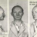 Antoni Nadolny - Zdjęcie sygnalityczne z przyjęcia do więzienia WARSZAWA-1 na Mokotowie (2 maja 1955)